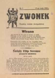 Dzwonek, 1932, [R. 30], nr 9