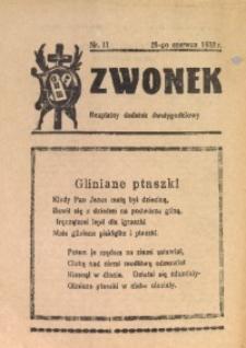 Dzwonek, 1932, [R. 30], nr 11