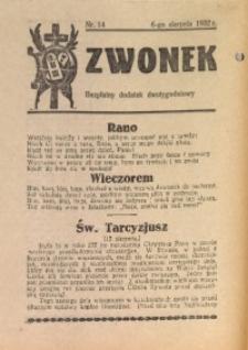 Dzwonek, 1932, [R. 30], nr 14