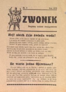 Dzwonek, 1933, [R. 31], nr 3