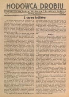 Hodowca Drobiu, 1932, nr 3