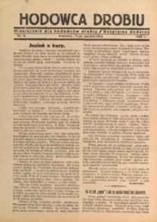 Hodowca Drobiu, 1933, nr 9