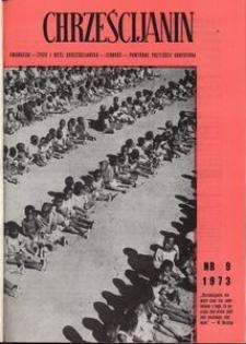 Chrześcijanin, 1973, nr 9