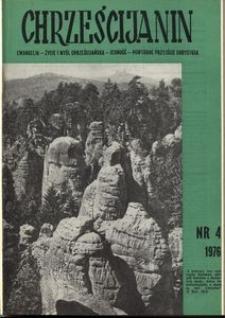 Chrześcijanin, 1976, nr 4