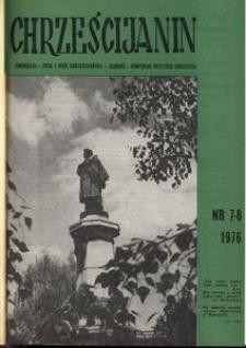 Chrześcijanin, 1976, nr 7-8