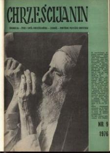 Chrześcijanin, 1976, nr 9