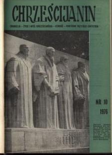Chrześcijanin, 1976, nr 10