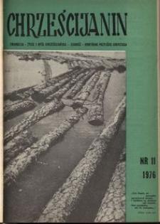 Chrześcijanin, 1976, nr 11