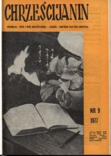 Chrześcijanin, 1977, nr 9