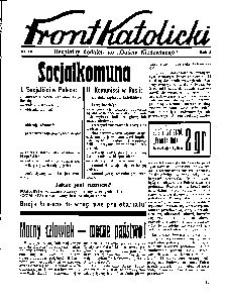 Front Katolicki, [1938], R. 2, nr 18