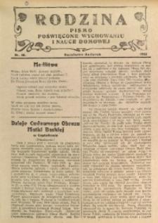 Rodzina, 1932, nr 18