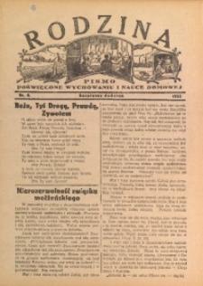 Rodzina, 1933, nr 8