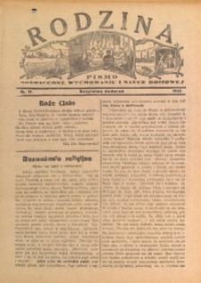Rodzina, 1933, nr 11