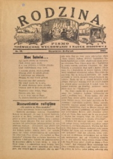 Rodzina, 1933, nr 13
