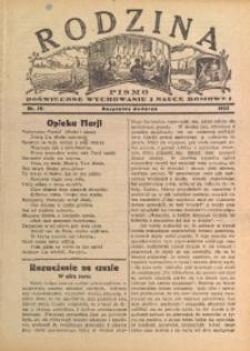 Rodzina, 1933, nr 15