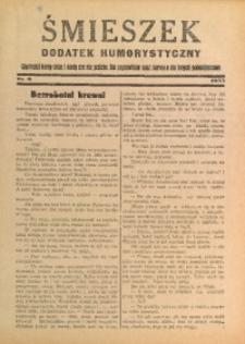 Śmieszek, 1933, nr 9