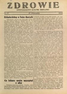 Zdrowie, 1932, nr 17