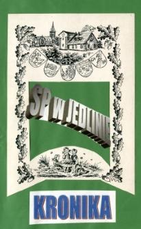 Kronika Szkoły Podstawowej w Jedlinie za okres 2001-2002
