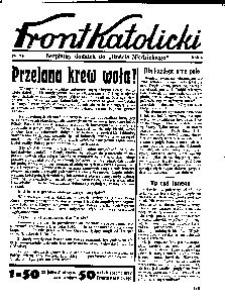 Front Katolicki, [1938], R. 2, nr 34