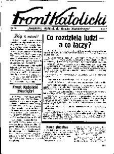 Front Katolicki, [1938], R. 2, nr 50