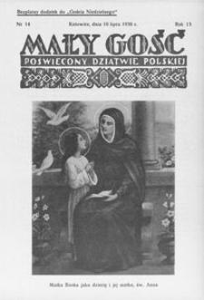 Mały Gość, 1938, R. 13, nr 14