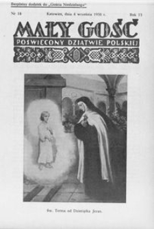 Mały Gość, 1938, R. 13, nr 18