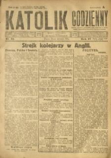 Katolik Codzienny, 1924, R. 27, Nr. 21