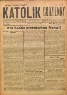 Katolik Codzienny, 1924, R. 27, Nr. 135