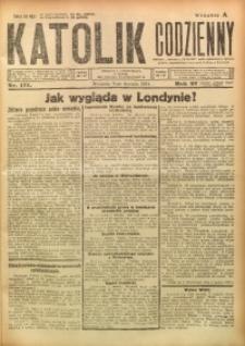 Katolik Codzienny, 1924, R. 27, Nr. 177