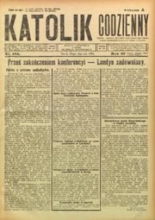 Katolik Codzienny, 1924, R. 27, Nr. 185
