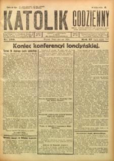 Katolik Codzienny, 1924, R. 27, Nr. 190