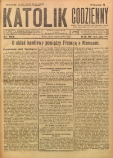Katolik Codzienny, 1924, R. 27, Nr. 251