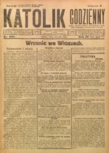 Katolik Codzienny, 1924, R. 27, Nr. 265