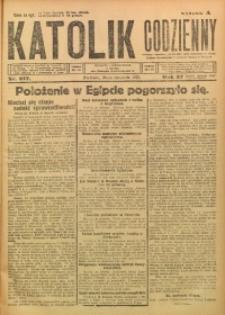 Katolik Codzienny, 1924, R. 27, Nr. 277