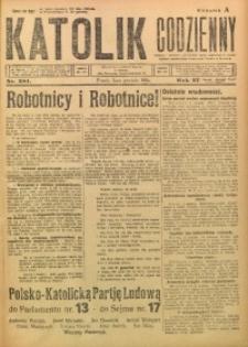Katolik Codzienny, 1924, R. 27, Nr. 281