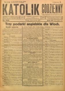 Katolik Codzienny, 1924, R. 27, Nr. 289