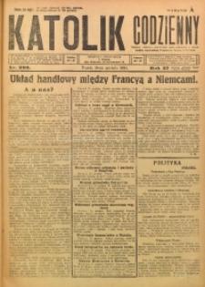 Katolik Codzienny, 1924, R. 27, Nr. 292
