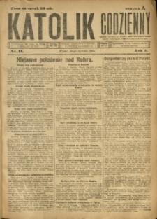 Katolik Codzienny, 1923, R. 1, Nr. 17