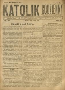 Katolik Codzienny, 1923, R. 1, Nr. 40