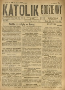 Katolik Codzienny, 1923, R. 26, Nr. 88