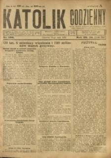 Katolik Codzienny, 1923, R. 26, Nr. 106