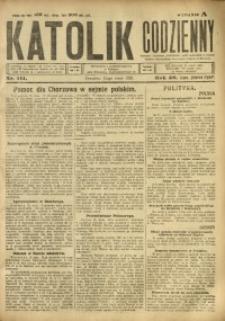 Katolik Codzienny, 1923, R. 26, Nr. 111