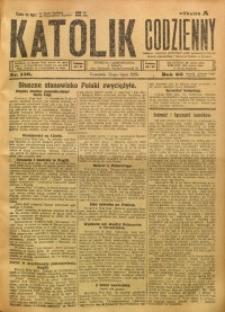 Katolik Codzienny, 1923, R. 26, Nr. 156