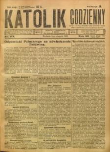 Katolik Codzienny, 1923, R. 26, Nr. 177