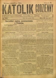 Katolik Codzienny, 1923, R. 26, Nr. 179