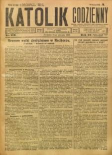 Katolik Codzienny, 1923, R. 26, Nr. 183