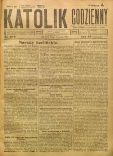 Katolik Codzienny, 1923, R. 26, Nr. 222