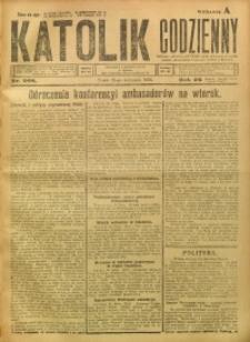 Katolik Codzienny, 1923, R. 26, Nr. 268
