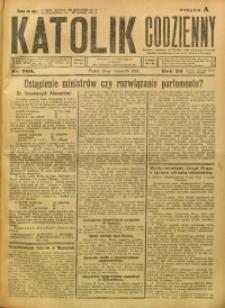 Katolik Codzienny, 1923, R. 26, Nr. 269