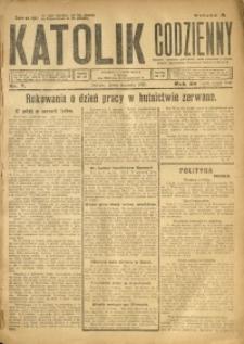 Katolik Codzienny, 1925, R. 28, Nr. 7